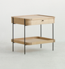 Humla side table with storage