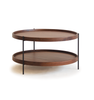 Walnut Humla Coffee Table by Sketch