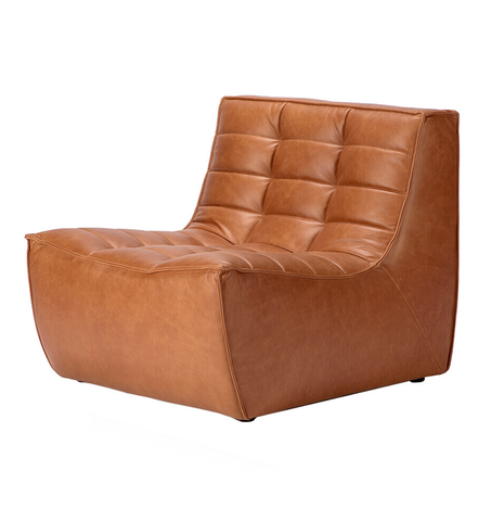 Ethnicraft N701 Single Seater - Leather