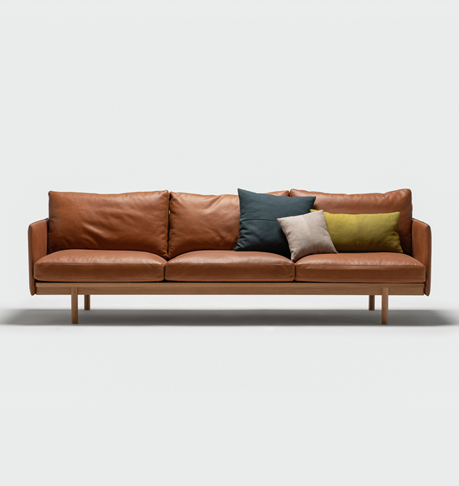 Pensive Sofa by Sketch - Sorensen Envy Leather