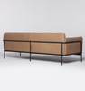 Scribe 3 Seater Sofa in Leather