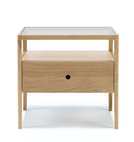Spindle Bed Side Table