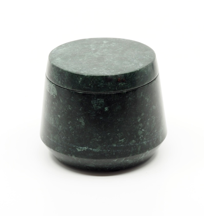 Marble Cannister - Ocean Green