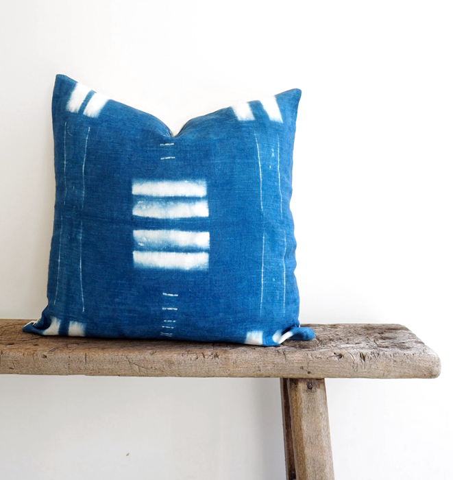 Indigo Bar Cushion
