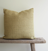 Woven Linen Olive Cushion