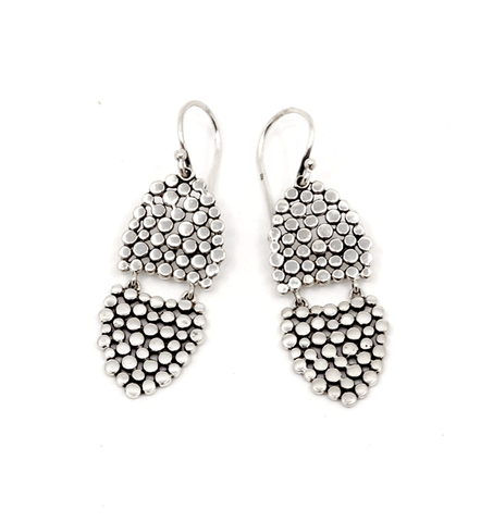 Double Shield Earrings