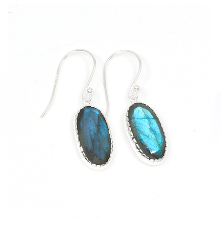 Hera Earrings - Labdorite
