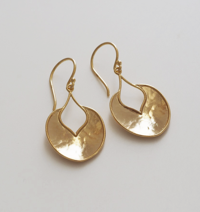 Roma Gold Earrings