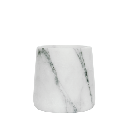 Tapered Marble Vase Short