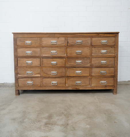 Vintage Multi Drawer Cabinet