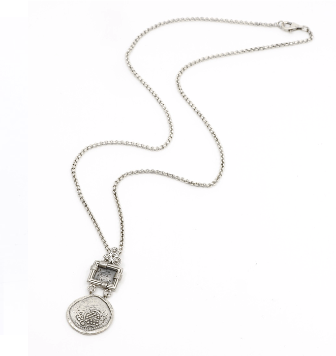 Coin Sprial Necklace