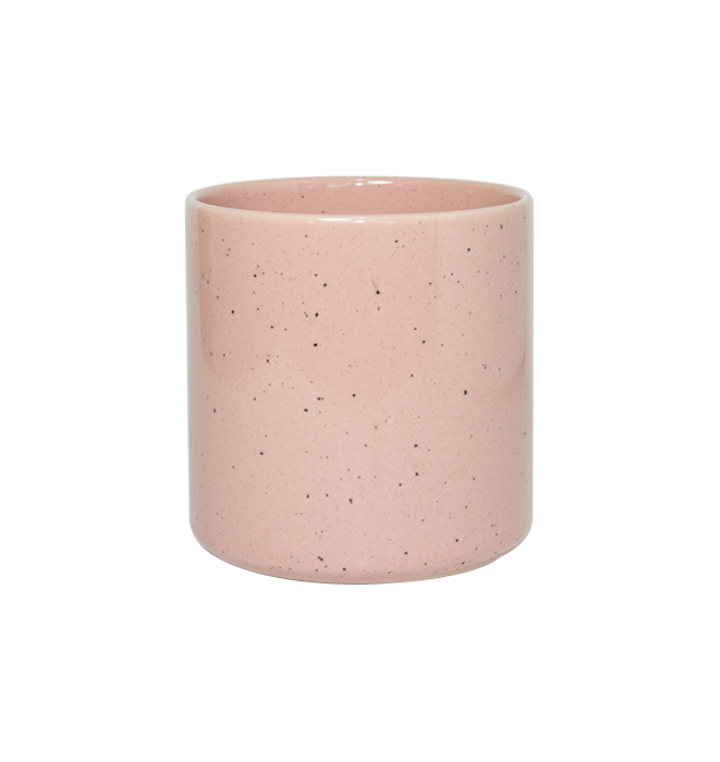 Cup with Rose Speckle