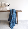 Dabu Indigo Throw