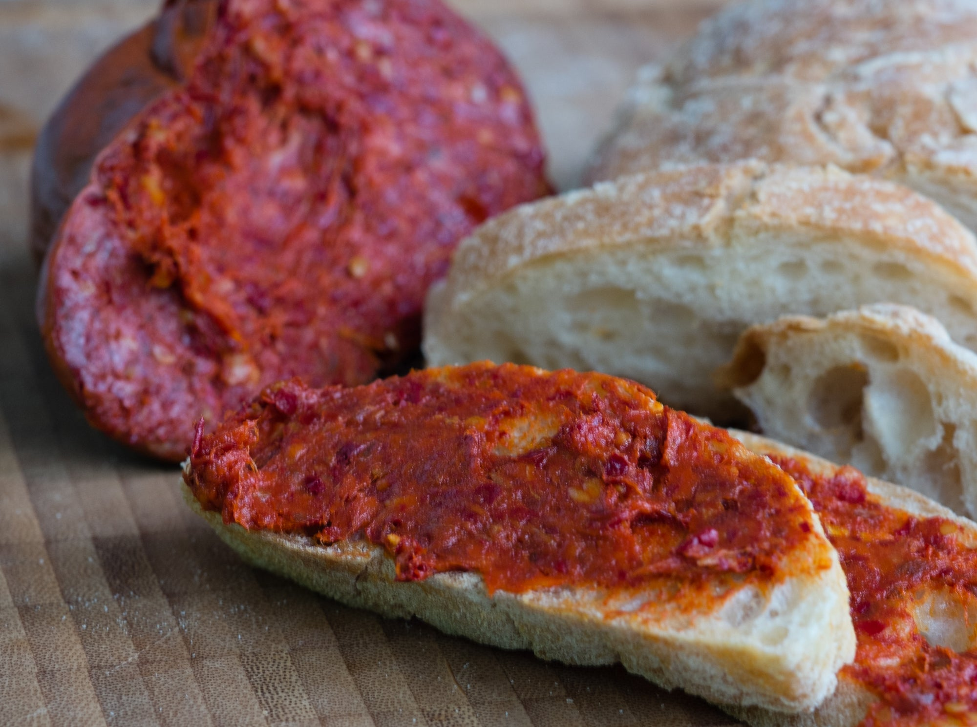 Move aside bacon wrapped EVERYTHING, its time to try our 'Nduja Spread'