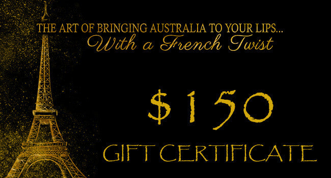 GIFT VOUCHERS - $150.00 - Stephs Gourmet Foods  French Gourmet Cheese Sauscission Stephs Gourmet Foods salumi Stephs Gourmet Foods Stephs Gourmet Foods