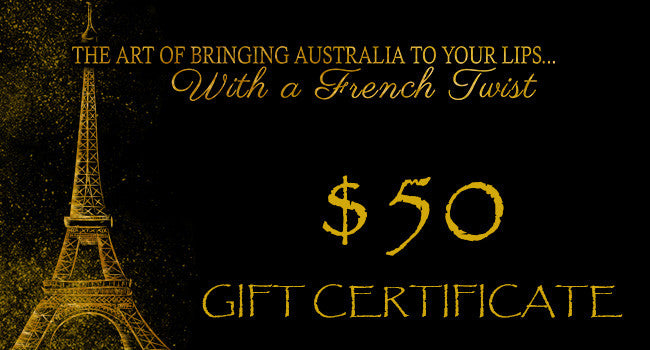 GIFT VOUCHERS - $50.00 - Stephs Gourmet Foods Gift Card French Gourmet Cheese Sauscission Stephs Gourmet Foods salumi Stephs Gourmet Foods Stephs Gourmet Foods
