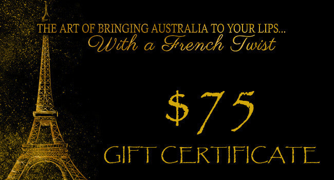 GIFT VOUCHERS - $75.00 - Stephs Gourmet Foods  French Gourmet Cheese Sauscission Stephs Gourmet Foods salumi Stephs Gourmet Foods Stephs Gourmet Foods