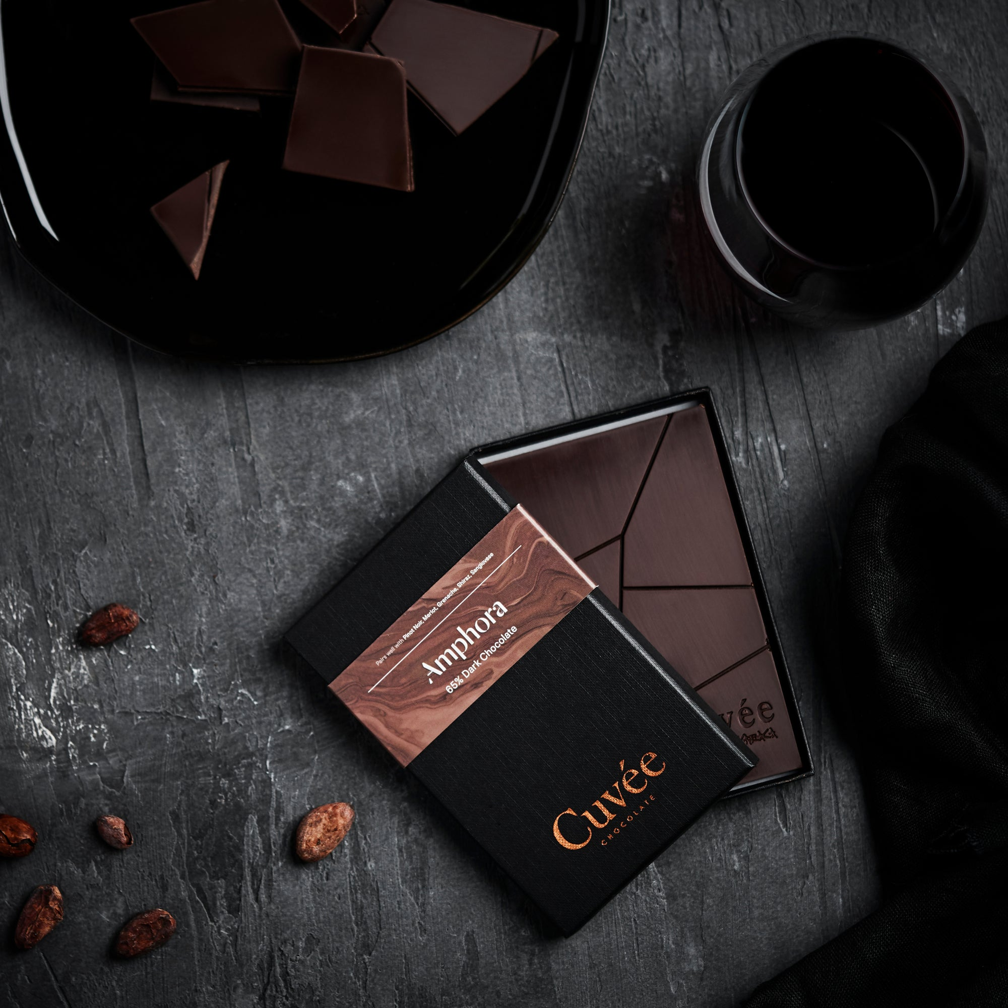 Cuvée Amphora | 65% Dark Chocolate - 70g