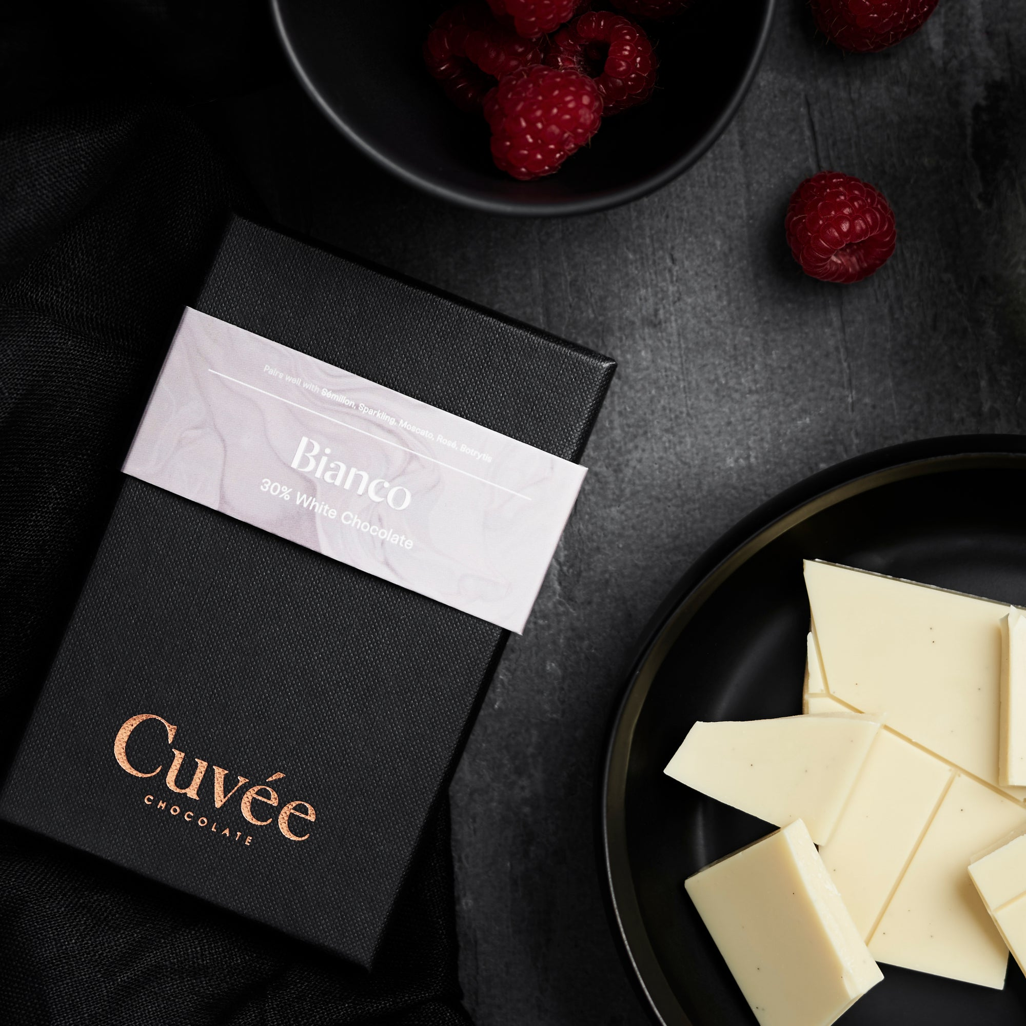 Cuvée Bianco | 30% White Chocolate - 70g