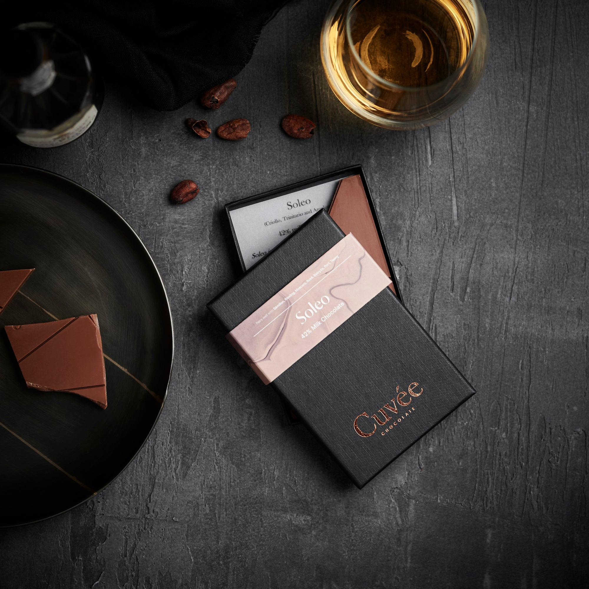 Cuvée Soleo | 42% Milk Chocolate - 70g