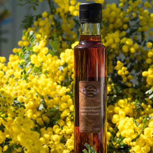Caramelised Saffron White Wine Vinegar - 250g