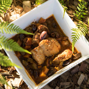 Slow Baked Chicken with Olives-970g