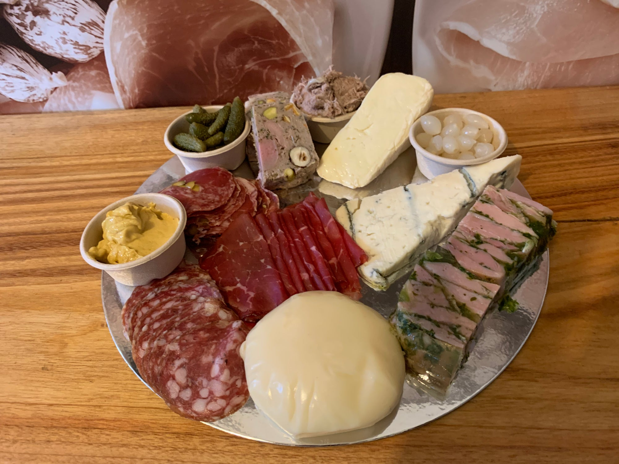 Platter - Stephs Gourmet Foods Platter French Gourmet Cheese Sauscission Stephs Gourmet Foods salumi Stephs Gourmet Foods Stephs Gourmet Foods