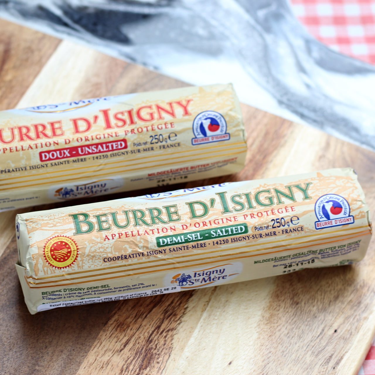 Beurre D'Isigny Doux (salted butter) - 250g