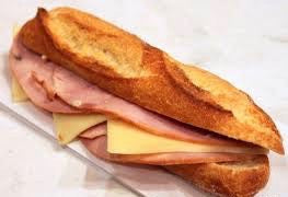 SANDWICH HAM BUTTER (JAMBON BEURRE) - Stephs Gourmet Foods Sandwiches baguettes French Gourmet Cheese Sauscission Stephs Gourmet Foods salumi Stephs Gourmet Foods Stephs Gourmet Foods