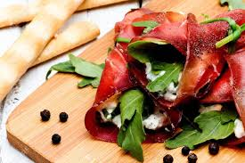 bresaola rolls with ricotta and herbs (10 Minimum order) - Stephs Gourmet Foods Ready made meals French Gourmet Cheese Sauscission Stephs Gourmet Foods salumi Stephs Gourmet Foods Stephs Gourmet Foods