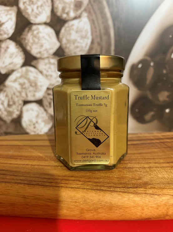 Truffle Mustard - Stephs Gourmet Foods Spices/Condiments French Gourmet Cheese Sauscission Stephs Gourmet Foods salumi Stephs Gourmet Foods Stephs Gourmet Foods