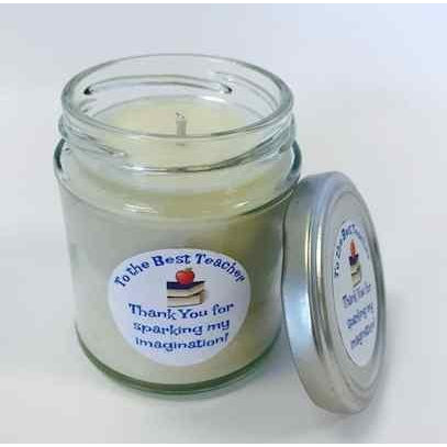 SALE - Teacher Gift Soy wax candle