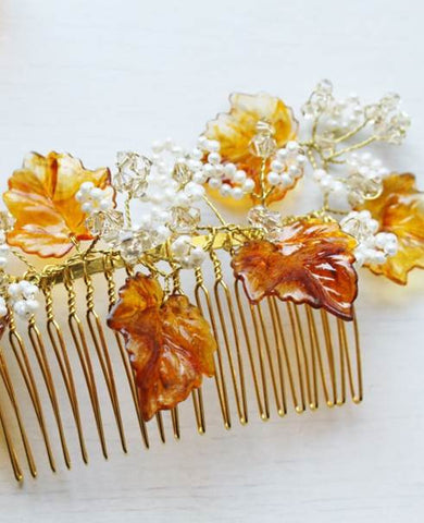 Autumn Breeze Hairslide