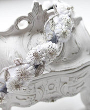 Daisy Hand Beaded Bridal Headpiece