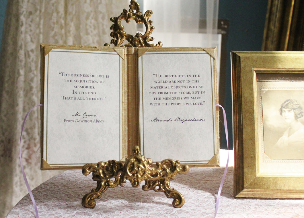 Handmade Antique Gold Thai Silk 4R Photo Frame / Wedding Vows Holder ...