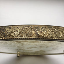1920s Antique Gold Ormolu Vanity Tray