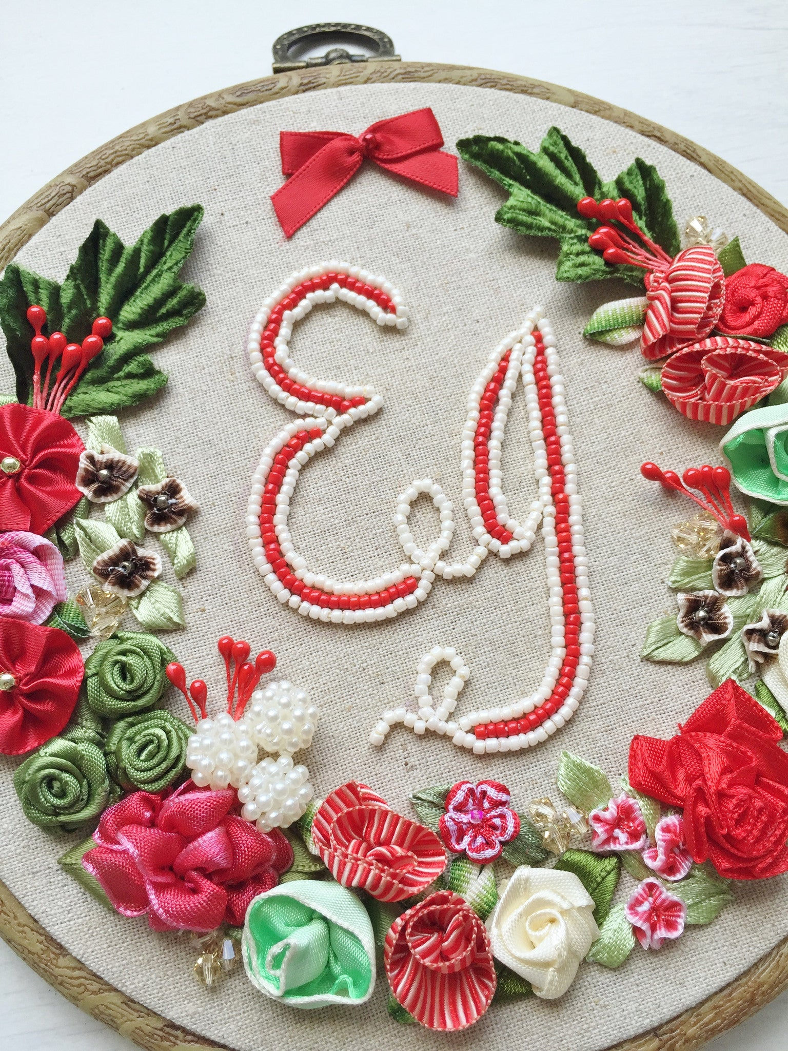 Married Christmas Monogram Home Decor