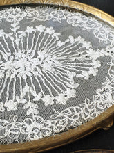 1920s - 1940s Vintage Lace Vanity Tray
