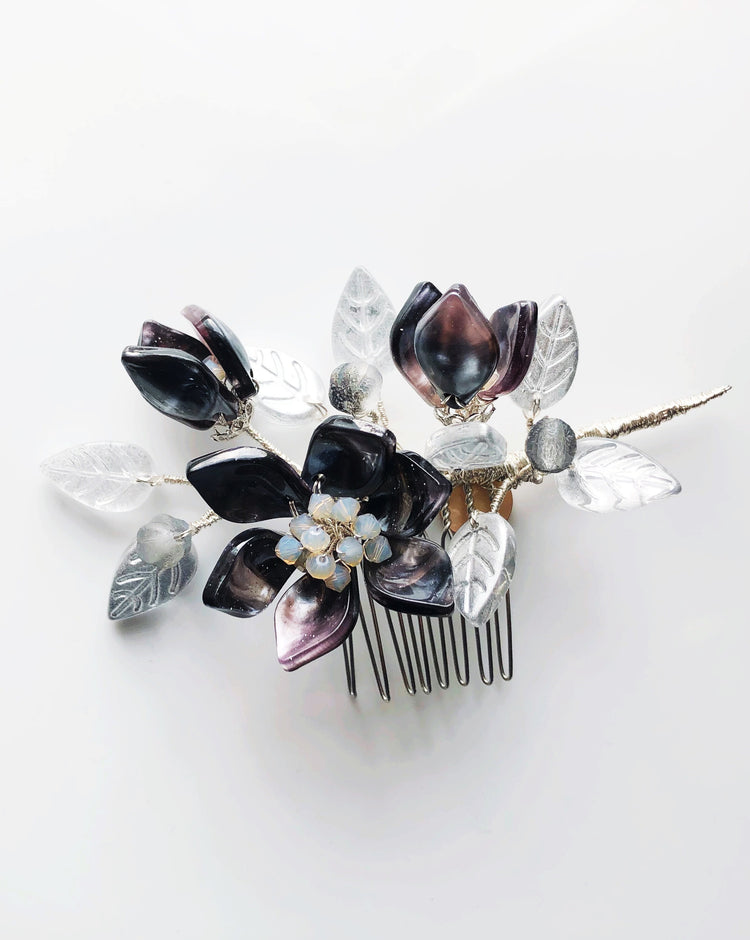 Love from the Milky Way hair slide