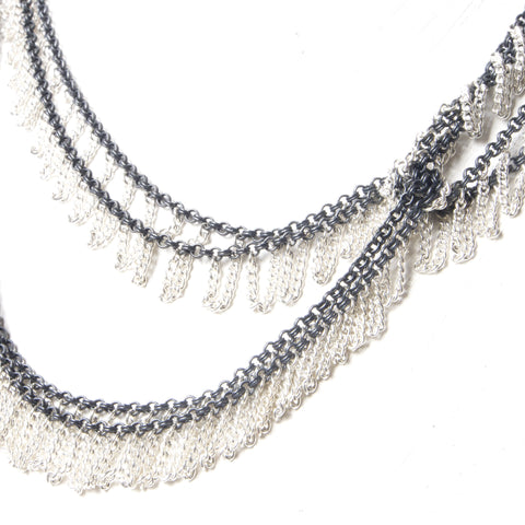 Double Drape necklace