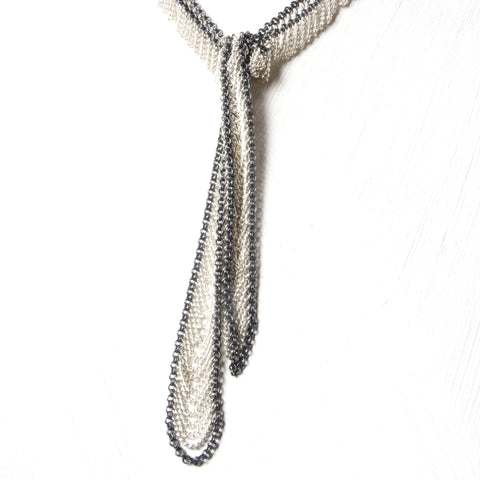 Drape Lariat necklace