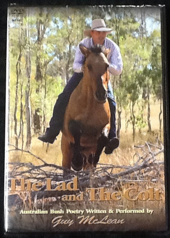 The Lad and The Colt- Poetry DVD