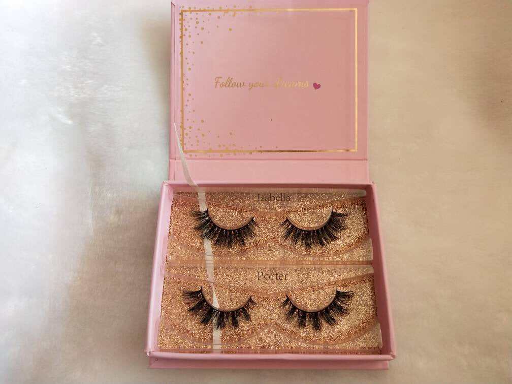 LIMITED EDITION PORTER AND ISABELLA DUO LASHES