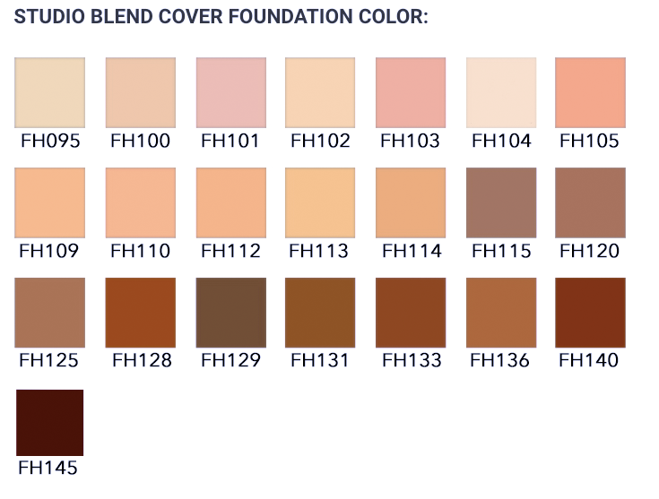 STUDIO BLEND FULL COVER FOUNDATION (MATTE)