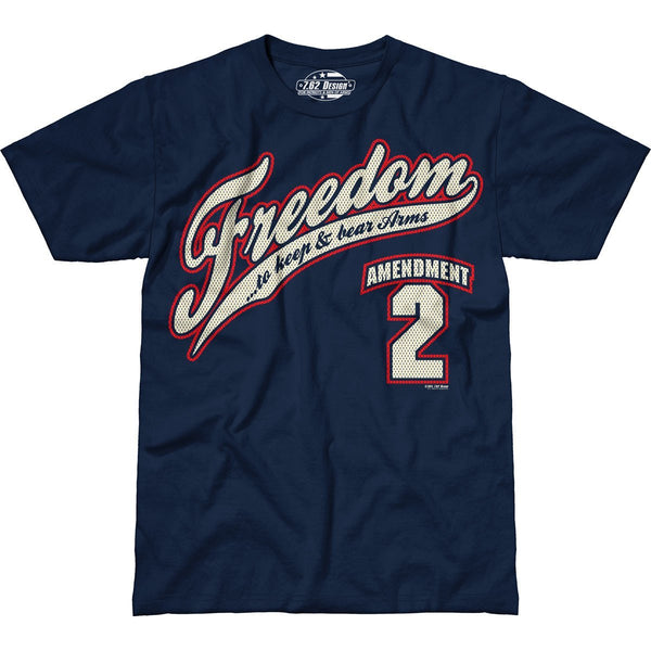 2nd Amendment Freedom T-Shirt- 7.62 Design Patriotic Tee Shirt