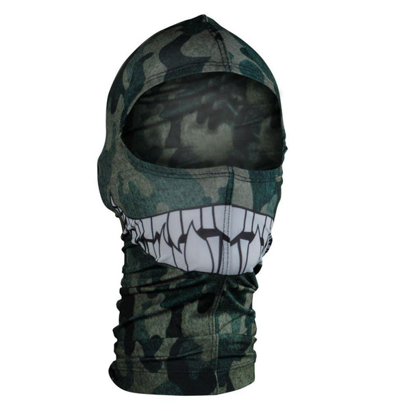 Camo Teeth Nylon Balaclava