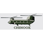 Chinook (CH-47) Helicopter Decal - Star Spangled 1776