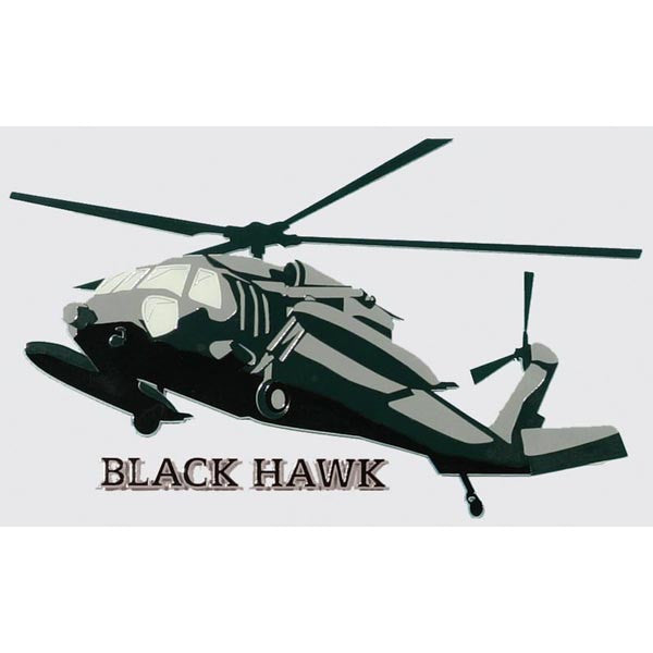 Blackhawk (UH-60) Helicopter Decal - Star Spangled 1776