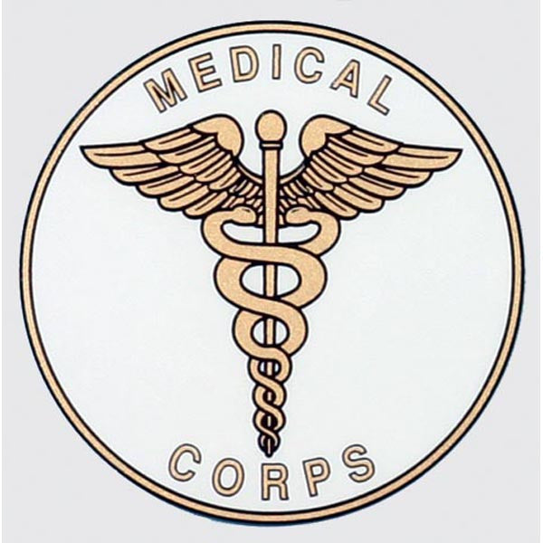 Army Medical Corps Decal - Star Spangled 1776