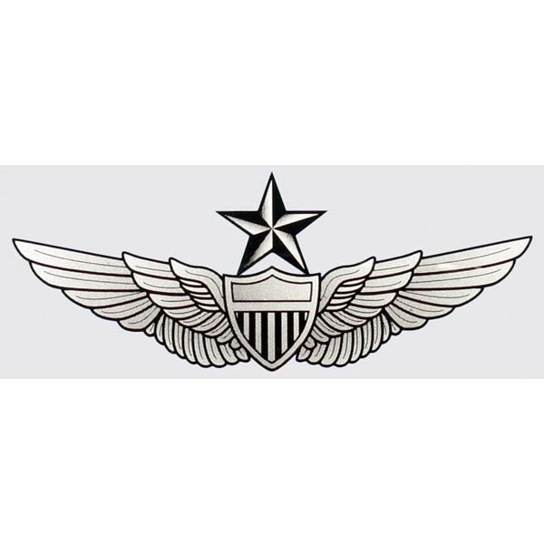 Army Senior Aviator Wings Decal - Star Spangled 1776